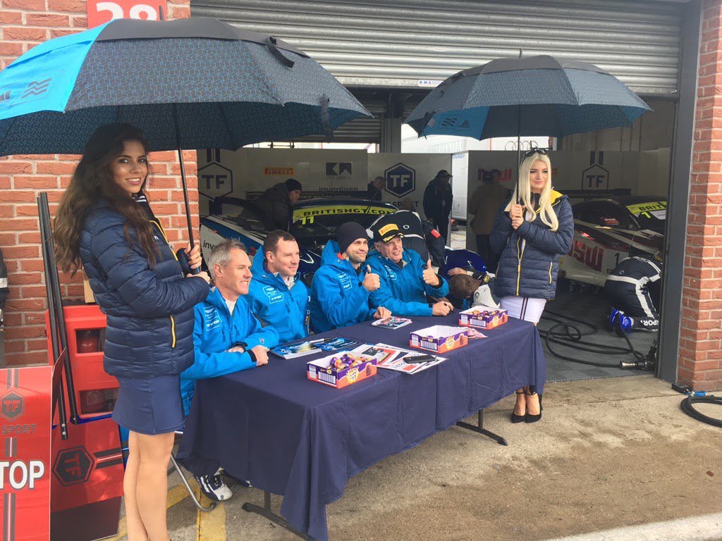 TF Sport at Oulton Park for British GT – 17th April 2017