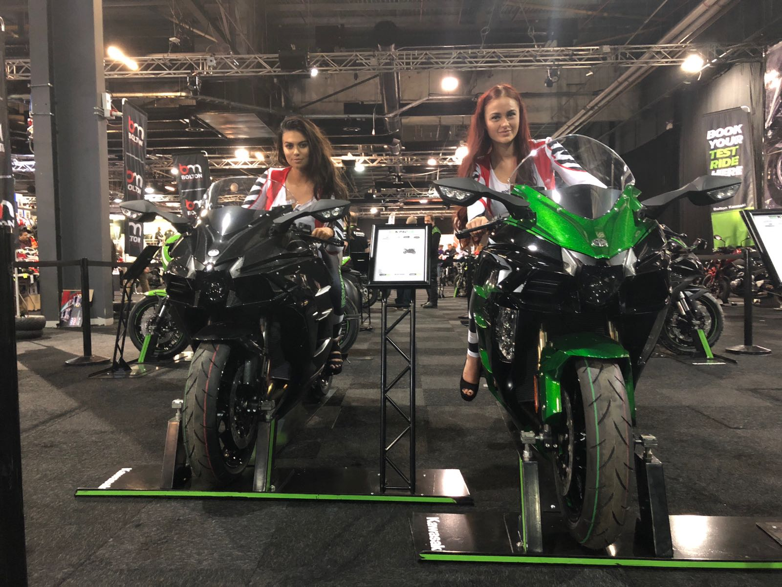Bolton Motorcycles at the Manchester Motorcycle Show 2018